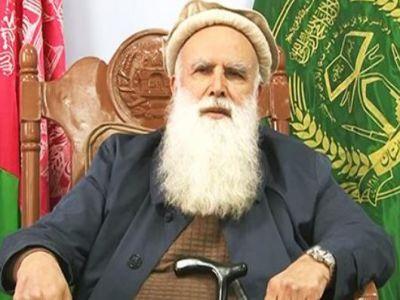 عبدالرب رسول سياف افغان حکومت له خوا د سولې مرکچي پلاوي هرکلی کړی