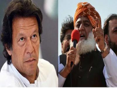 د فضل الرحمن او عمران خان جنجال: مولانا وايي چې عمران خان د پاکستان اقتصاد صفر کړ
