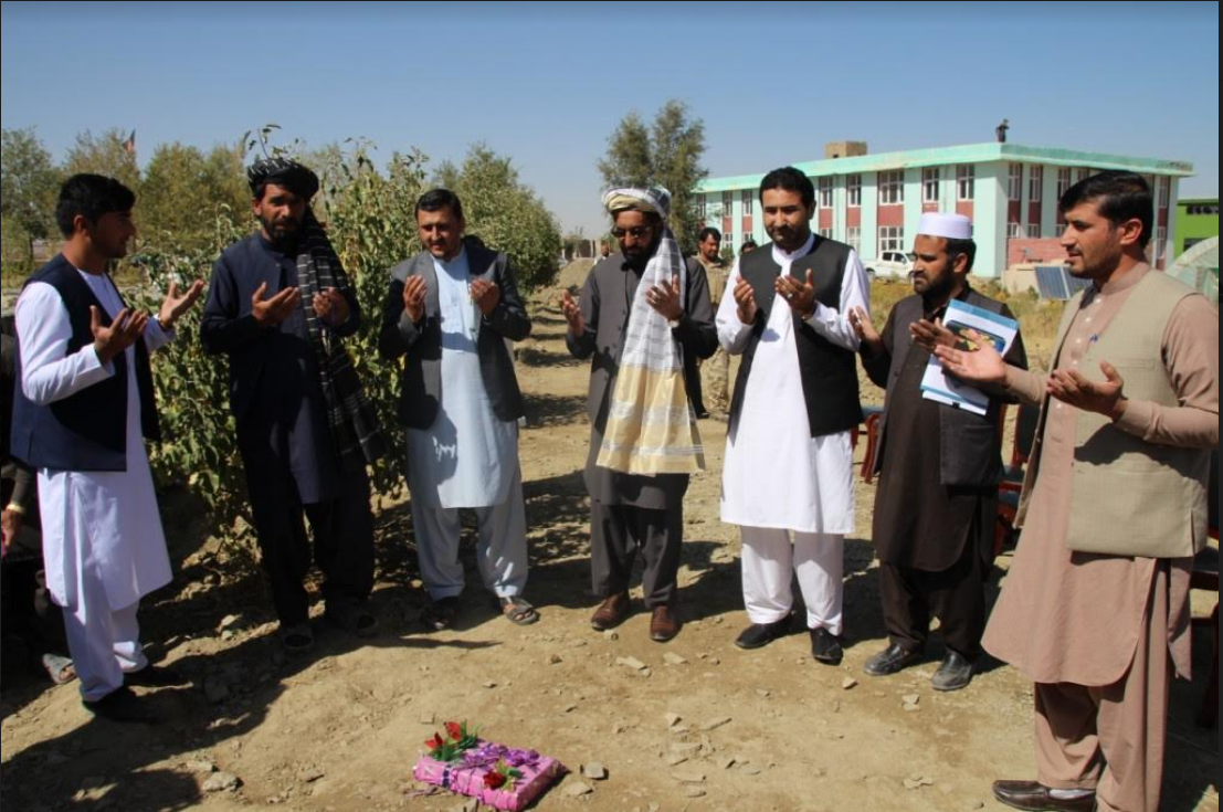 پکتیکا کې د شاوخوا ۸،۵ میلیونه افغانیو په لګښت د ابیارۍ او هموارۍ پروژې رغنیزې چارې پیل شوې